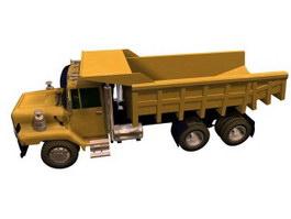 Rear dump truck 3d model