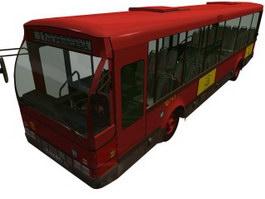 Spain EMT bus 3d model