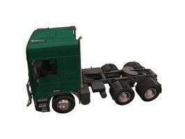 Leyland Roastrain truck 3d model