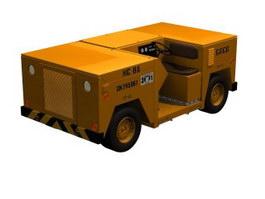 Construction vehicle 3d model