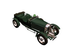 Bentley Blower 3d model