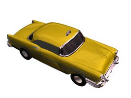 BUICK taxi 3d model
