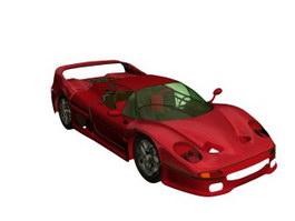 Ferrari F50 3d model