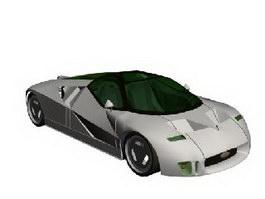Ford GT90 Concept Car 3d model