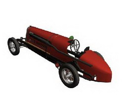 FIAT Mefistofele 3d model