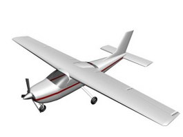 Cessna 177 Cardinal general aviation aircraft 3d model