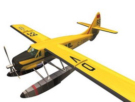 De Havilland Canada DHC-3 Otter STOL utility transport 3d model