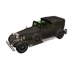 1933 Cadillac v8 Series 335C 3d model