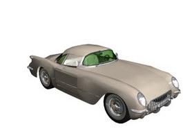 1954 Cadillac Series 62 3d model