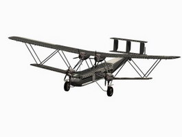 Handley Page H.P.42 Heracles Civilian airliner 3d model