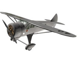 Howard DGA-6 Mister Mulligan Racing aircraft 3d model
