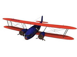 Curtiss Aircraft 3d model