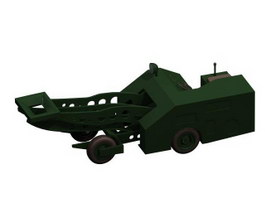 Airplane Towing Vehicle 3d model