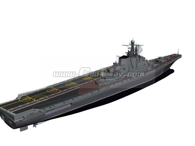 Aircraft Carrier 3d Model 3ds Max 3ds Files Free Download