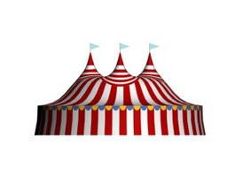 Circus Tent 3d model