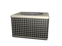 Air conditioner external unit 3d model