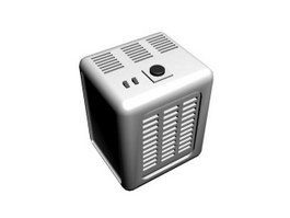Air Purifier 3d model