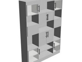 Wall cupboard 3d model