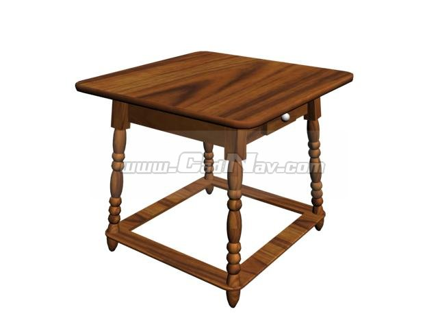 Mini Coffee Table 3d Model 3ds Max 3ds Files Free Download Modeling 2018 On Cadnav