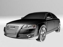 Audi A6 car 3d model