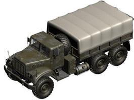 Renova Kraz 255B Truck 3d model