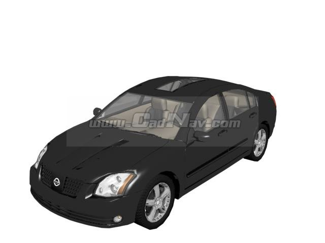 nissan maxima entry level luxury car 3d model 3ds max 3ds files free download modeling 2030 on. Black Bedroom Furniture Sets. Home Design Ideas