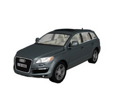 Audi Q7 Full-size crossover SUV 3d model