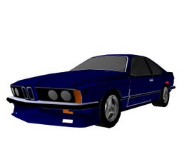 Motor vehicle 3d model