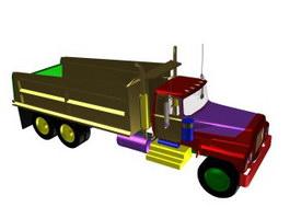 Optimus prime truck 3d model