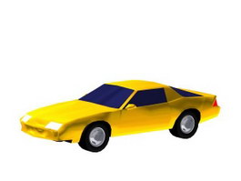 Racing-car 3d model