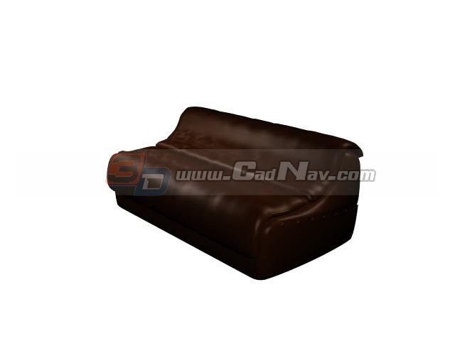 Double function sofa bed 3d model 3ds max files free for Sofa bed 3d model