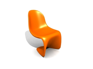 Vitra Panton Chair 3d model