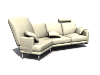 Musterring Sofa-bed 3d model