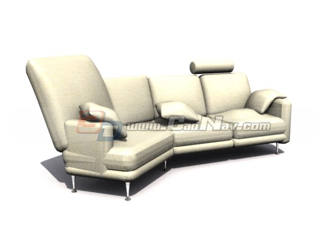 musterring sofa bed 3d model 3ds max files free download. Black Bedroom Furniture Sets. Home Design Ideas