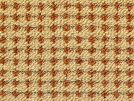Cotton patterned carpet texture