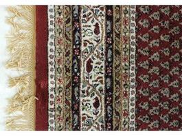Hand-made carpet texture
