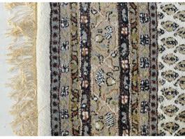 Patterned blended carpet texture