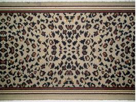 Printed cut pile carpet texture