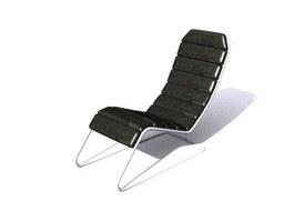 Sand Beach chair 3d model