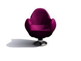 Arne Jacobsen egg chair 3d model