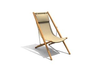 Swivel armchair Lounge Chair 3d model