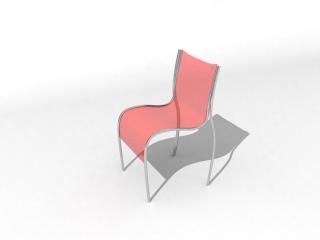 Panton S Chair 3d model