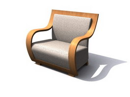 Armchair sofa 3d model