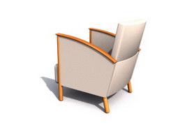 Hotel Sofa chair 3d model