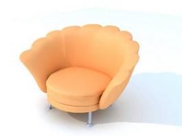 Queen Sofa Chair 3d model