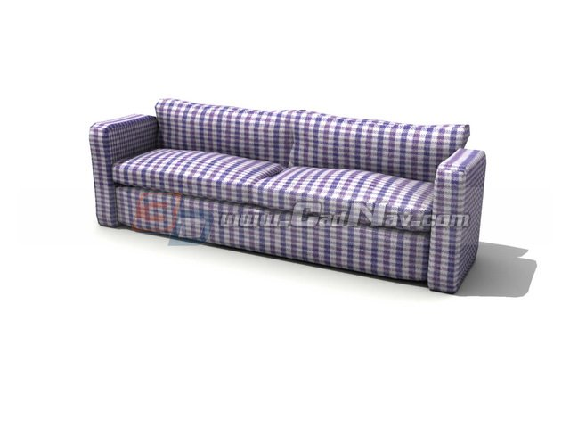 Sitting room sofa bed 3d model 3dmax 3ds files free for Sofa bed 3d model