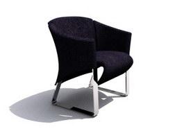 Cushion sofa chair 3d model