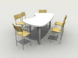 Restaurant Sets 3d model