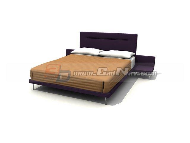 Mattress Soft Bed 3d model