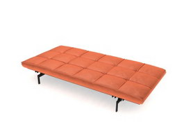 Living Room day bed 3d model